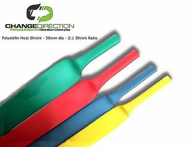 Heat Shrink-30mm dia-2:1 Shrinkable Tube/Wrap-500mm length (5 x 100mm)