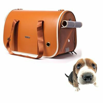 Pet Carrier Airline Approved Soft Sided Dogs Cats Carriers Shoulder Tote Handbag