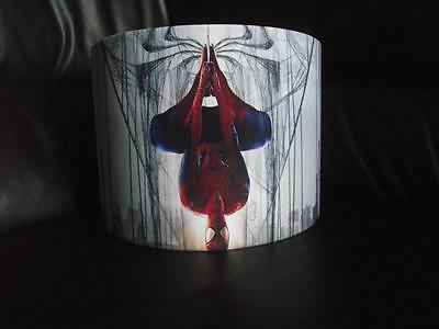 "SPIDERMAN b 10"" DRUM CEILING LAMPSHADE LIGHTSHADE"