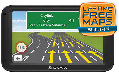 """NEW Navman - MOVE70LM - 5"""" LCD  GPS System - 4GB from Bing Lee"""