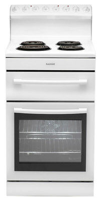 New Euromaid - R54RW - 54cm Electric Oven Radiant Coil Cooktop from Bing Lee
