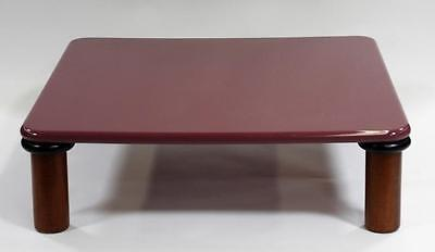 LG American MCM Purple Lacquered Coffee Table Lot 148