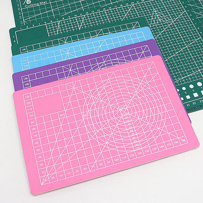 4Color A5 Cutting Mat Self Healing Non Slip Craft Quilting Printed Craft 21*15cm