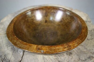 Treen English Antique Sycamore Bowl.