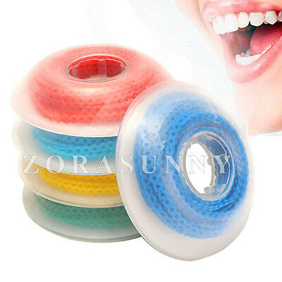 30 Pcs Dental Orthodontics Elastic Ultra Power Chain Close Short Long Colorful