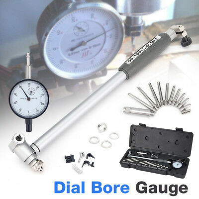 Engine Cylinder Bore Dial Measuring Indicator Gauge Kit Metric 50mm-160mm 0.01mm