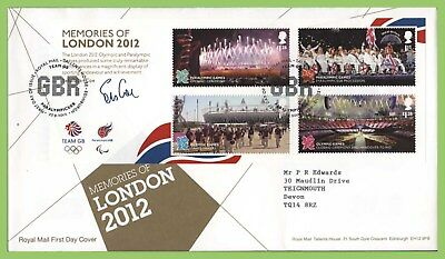 G.B. 2012 Memories of London 2012 M/S Royal Mail First Day Cover, Tallents House