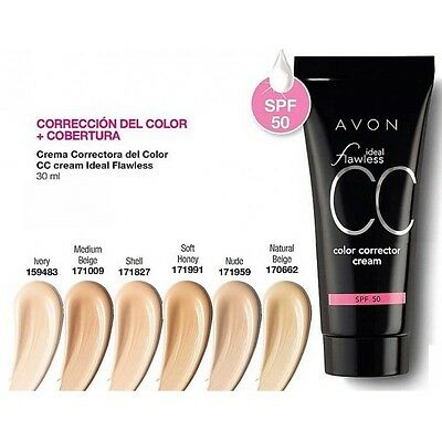 Avon Cc Cream Ideal Flawless Nuovo