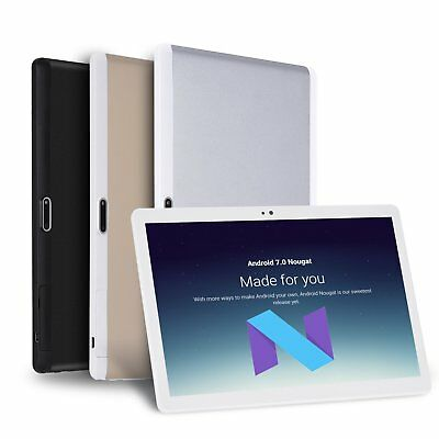 64Gb 10.1'' Inch Android 7.0 Tablet Pc 8Core 4G/3G Dual Sim Camera Ips Fhd Xgody