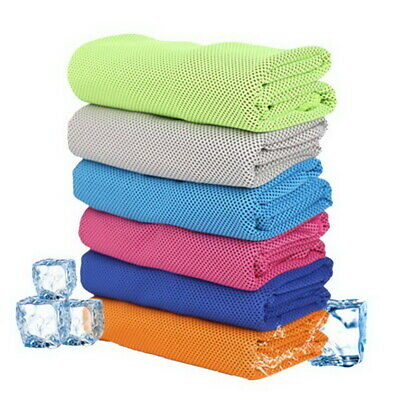 Instant Ice Cooling Towel for Jogging Gym Sunstroke Cycling Outdoor Sports