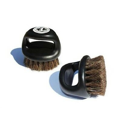 Irving Barber Co. Knuckle Fade Brush - Black