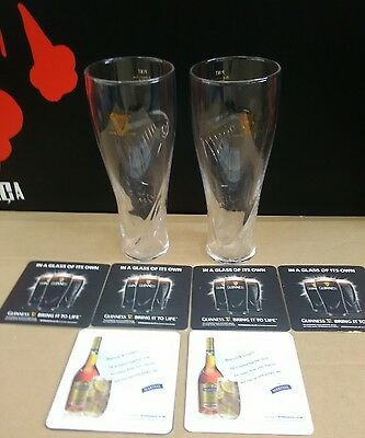 Guinness Pint glasses x 2