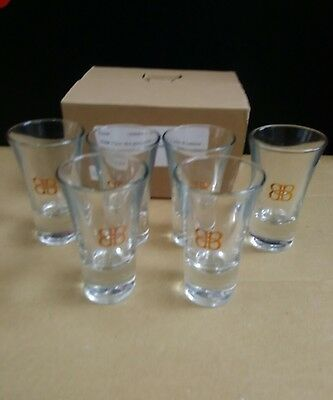Baileys Shot Glasses x 6 New And Boxed