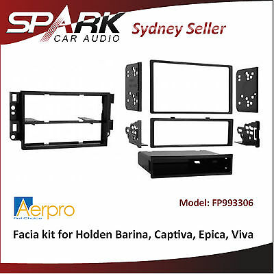 ADRO Single/Double din facia kit for Holden Barina Captiva Epica Viva FP993306