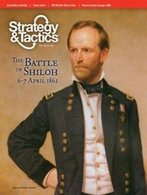 Strategy & Tactics 264 - The Battle Of Shiloh - Mint And Unpunched