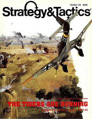 Strategy & Tactics 118 - The Tigers Are Burning - Mint And Unpunched