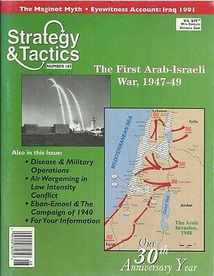 Strategy & Tactics 185 - The First Arab-Isreali War,1947-49 - Mint And Unpunched