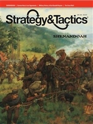 Strategy & Tactics 284 - Shenandoah - Mint And Unpunched