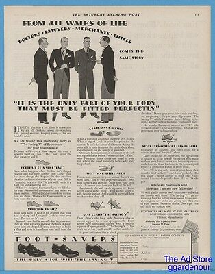 1928 Commonwealth Shoe and Leather Co Whitman MA Doctors Lawyers Chiefs Ad