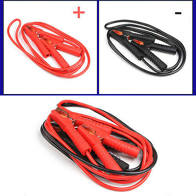 Power Start Jumper Booster Cables Wire Heavy Duty Truck Tractor Car Battery