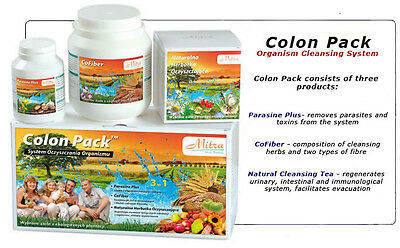 Colon Pack Body Detoxification System Elimination Of Parasites Removal Of Toxins