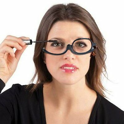 180 Degree Rotating Monocular Women Cosmetics Glasses Makeup Female Glasses  SW