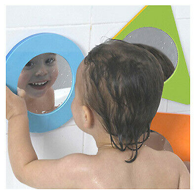 Tub Fun Magic Mirror Shapes Toy Baby Children Toddler by Edushape Age 1+