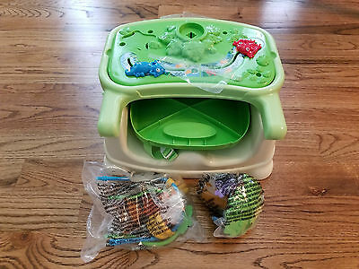 Fisher-Price Rainforest Healthy Care Booster Seat - New/Not Original Box