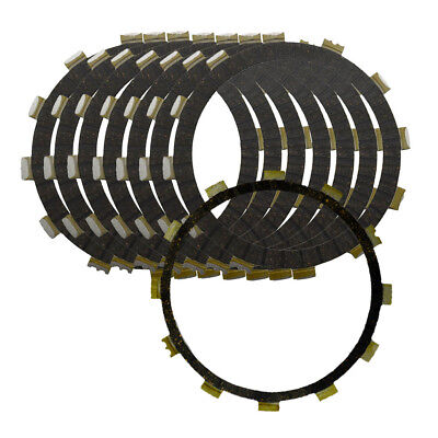 8pcs Clutch Friction Plates For Yamaha XVZ 1300 Royal Star Tour Venture Royale