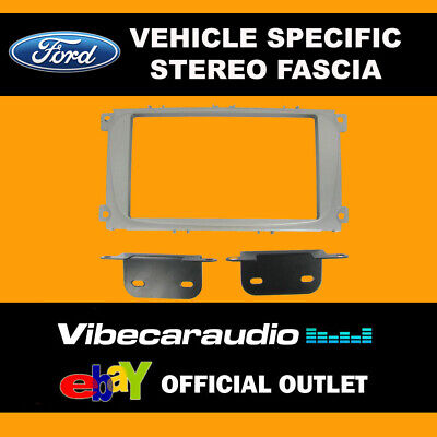 Ford Mondeo 2007 - Double Din Stereo Fascia Panel Adaptor CT23FD08