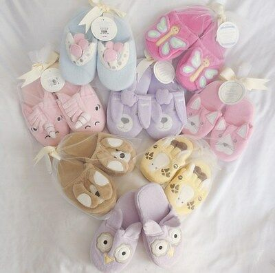 Pottery Barn Kids Animal Slippers Cat Dog Butterfly Princes Unicorn Poodle NWT