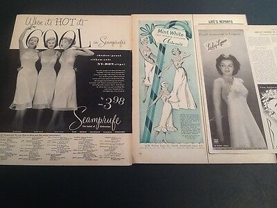 1960 Sarong Girdle Fashion lingerie VIntage Mag AD NORTHWEST Orient AIRLINES