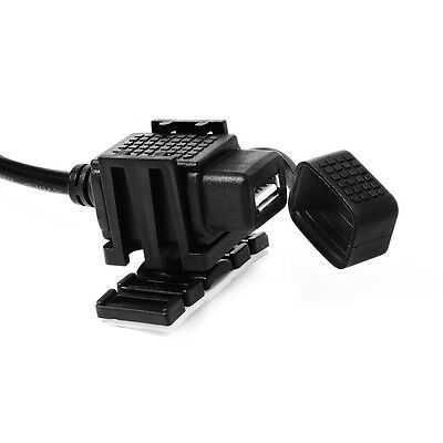 12V 2.1A Motorcycle USB Power Single Port Socket Mobile Charger for Phone MA440
