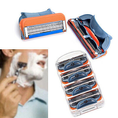 5-Blade Fashion Men Face shaving Razors Blades Shaver Blades for Men SharpenerST