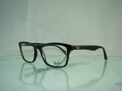 RAYBAN Ray Ban RB 5279 2000 BLACK Spectacles Eyeglasses Frames Size 55