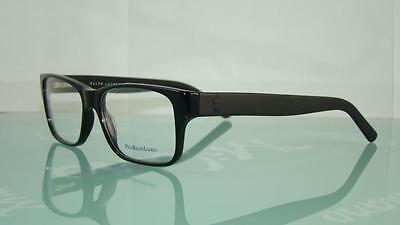 POLO RALPH LAUREN PH 2117 5001 BLACK Glasses Eyeglasses Frames Size 54