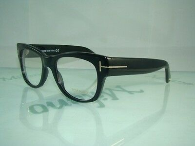 100%AUTHENTIC TOM FORD TF 5040 B5 BLACK with CASE Frames Eyeglasses Size 52