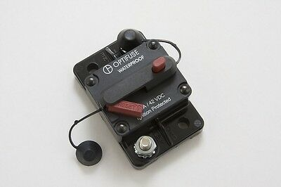 Hi Amp Type III Manual Reset Circuit Breaker, Flush/Surface Mount 100A