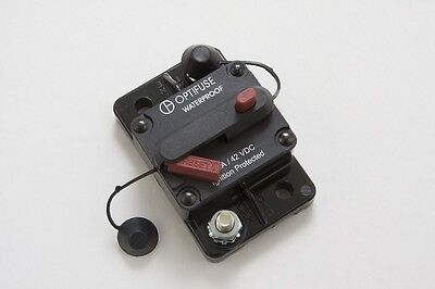 Hi Amp Type III Manual Reset Circuit Breaker, Flush/Surface Mount 200A