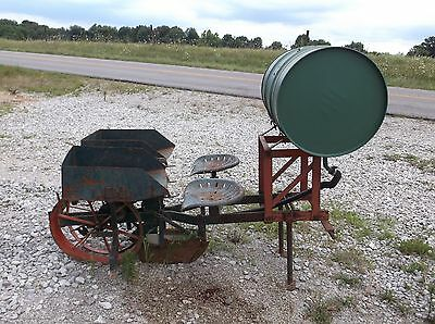 Used Mechanical 1 Row  Veggie Transplanter. HOME OF CHEAP and FAST SHIPPING