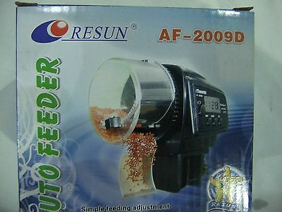 Resun Automatic  Fish  Feeder Battery Operated AF-2009D