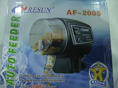 Resun Automatic  Fish  Feeder Battery Operated AF-2005