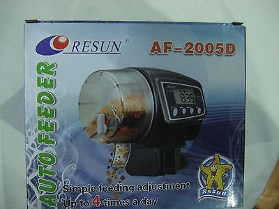 Resun Auto Fish  Feeder Battery Operated AF-2005D