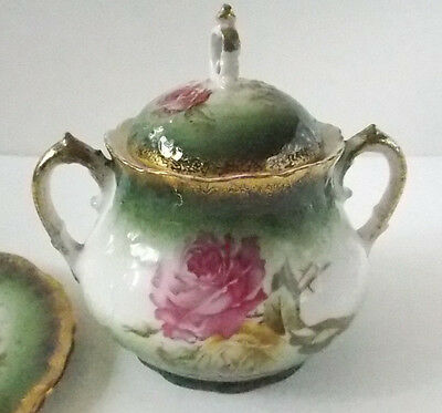 Imperial Austria Sugar bowl with lid and plate /31101505