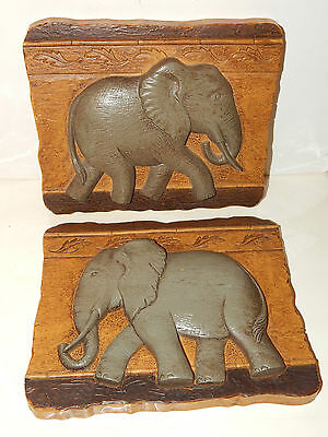 Home Interior Set Of Two Elephant Pictures