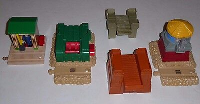 THOMAS THE TANK ENGINE track LOT sodor water tower conductor shed gullane
