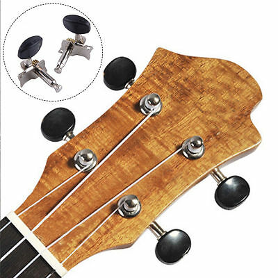 2R 2L Tuning Pegs Machine Head Tuners for 4 String Ukulele Guitar Part 4pcs