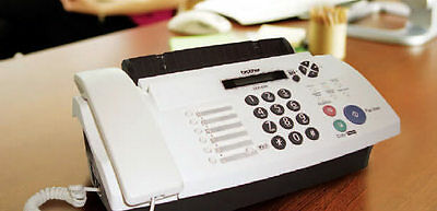 Brother FAX-878 Fax Machine Thermal Transfer FAX Copier Extra Ribbon Up to 20 Pa