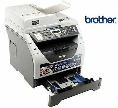 Brother MFC-8370DN Duplex Network Laser Printer Fax Copy Scan to USB MFC ADF LAN