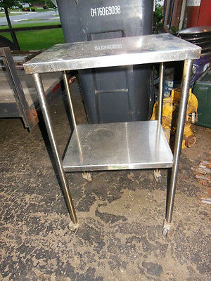 blickman stainless vintage medical table rolling hospital accessories co 1950s S